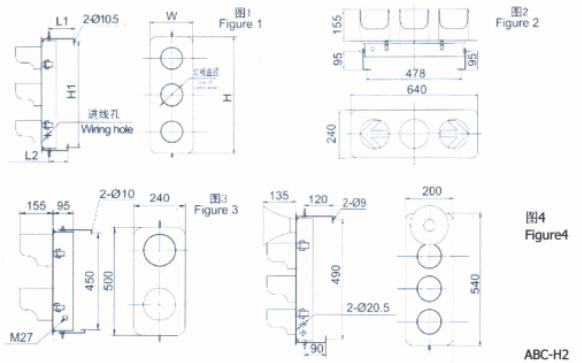 三相电源信号指示灯成功案例及接线图